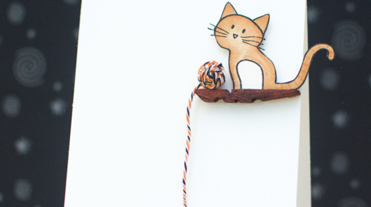How-To: Kitty Cat Greeting Card