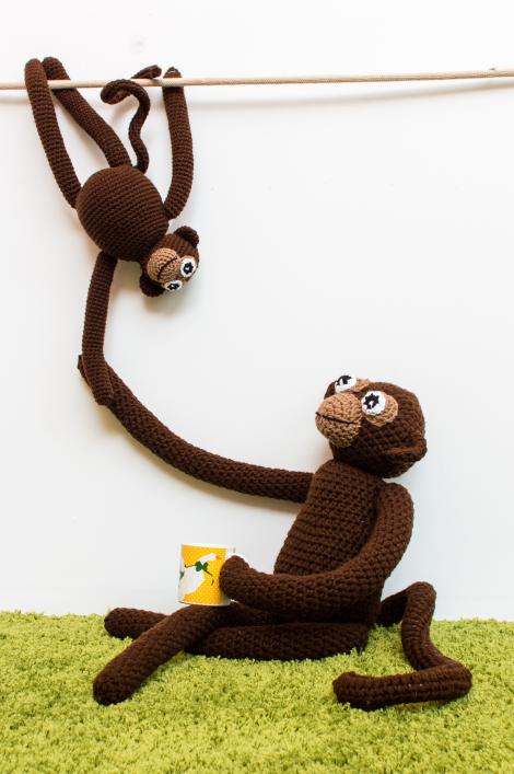 How-To: Amigurumi Monkeys