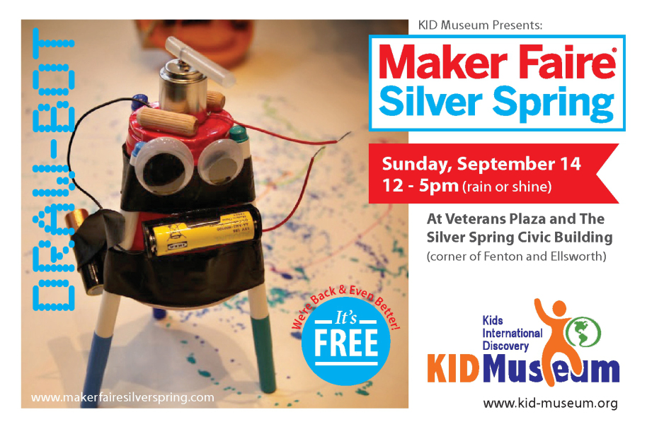 Maker Faire Silver Spring: Call For Makers