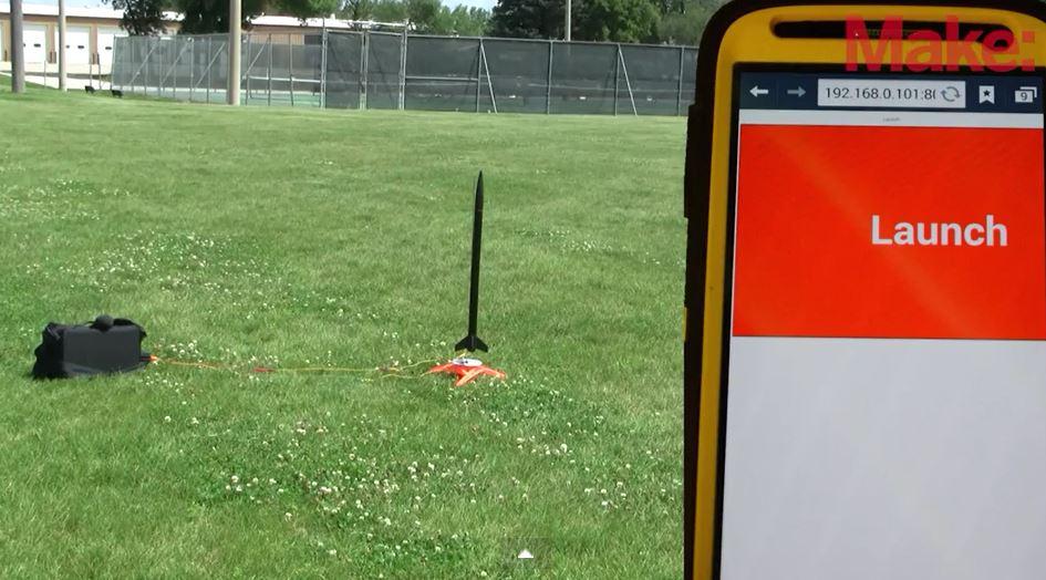 Smartphone Rocket Launcher
