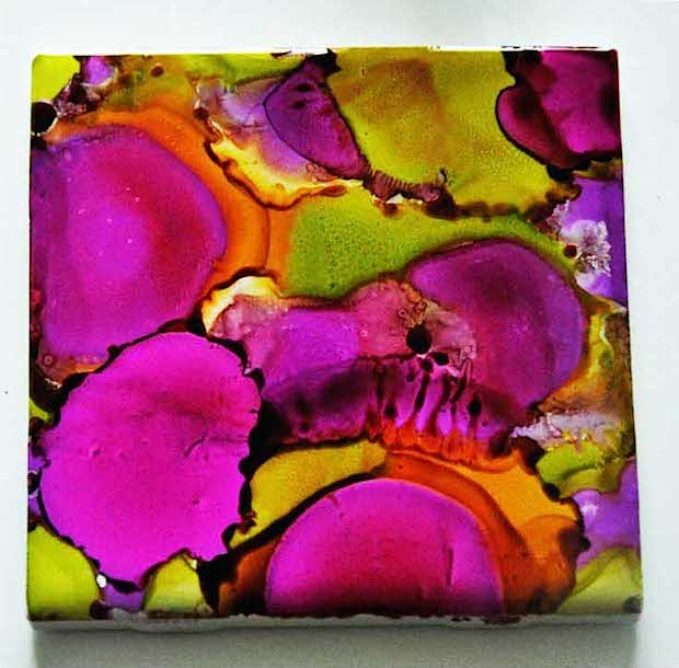 How-To: Alcohol Ink Coasters