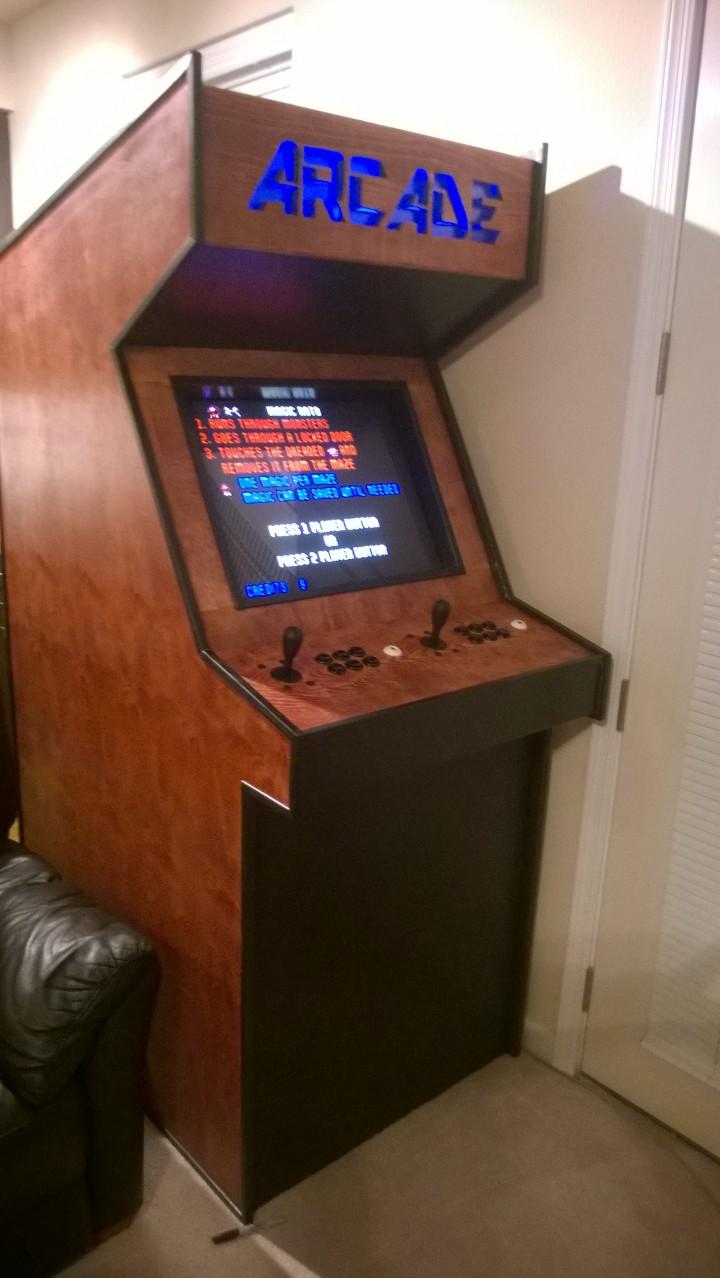 Building A Basic Arcade Cabinet