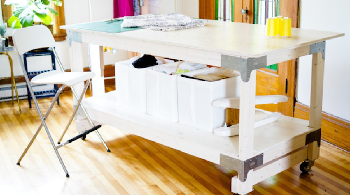 Sewing Tools: DIY Cutting Table