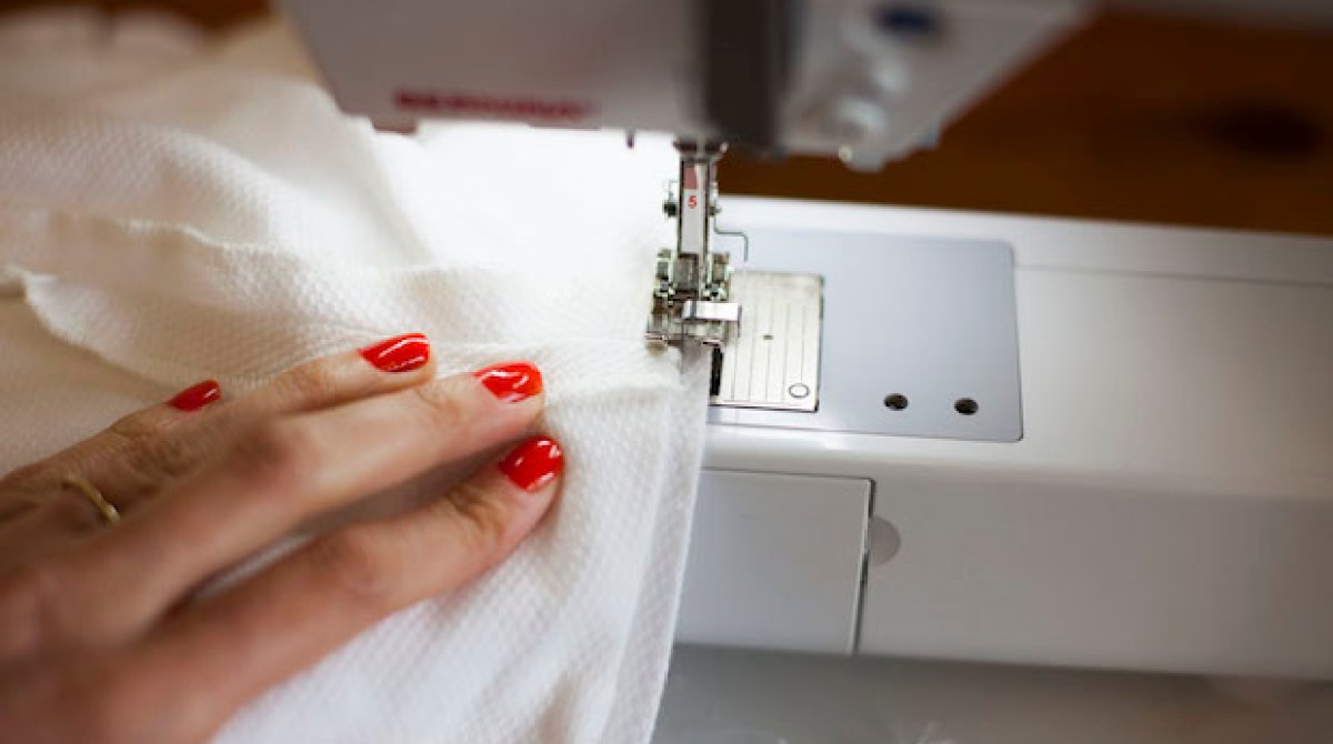 Sewing Tip: Finish a Waistband without Sewing by Hand