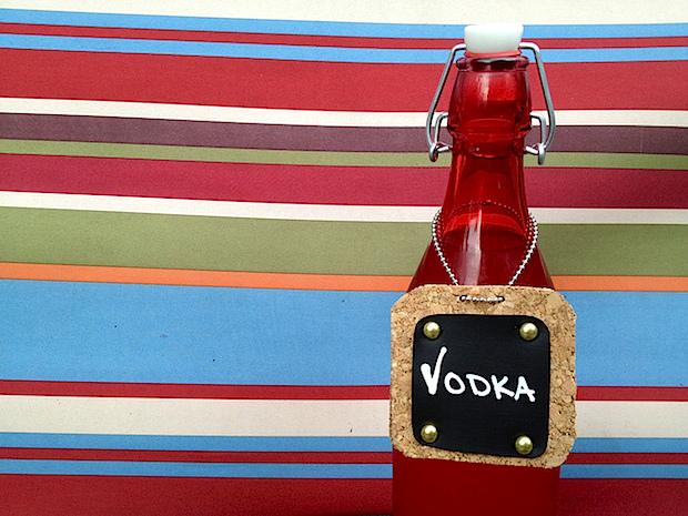 Flashback: Chalk Cloth Bottle Tags