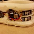 3D Printed Bracelet Illuminates On The Beat