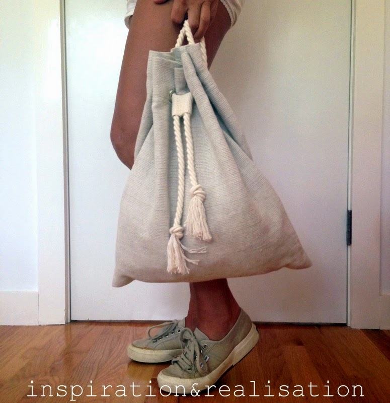 DIY Slouchy Backpack