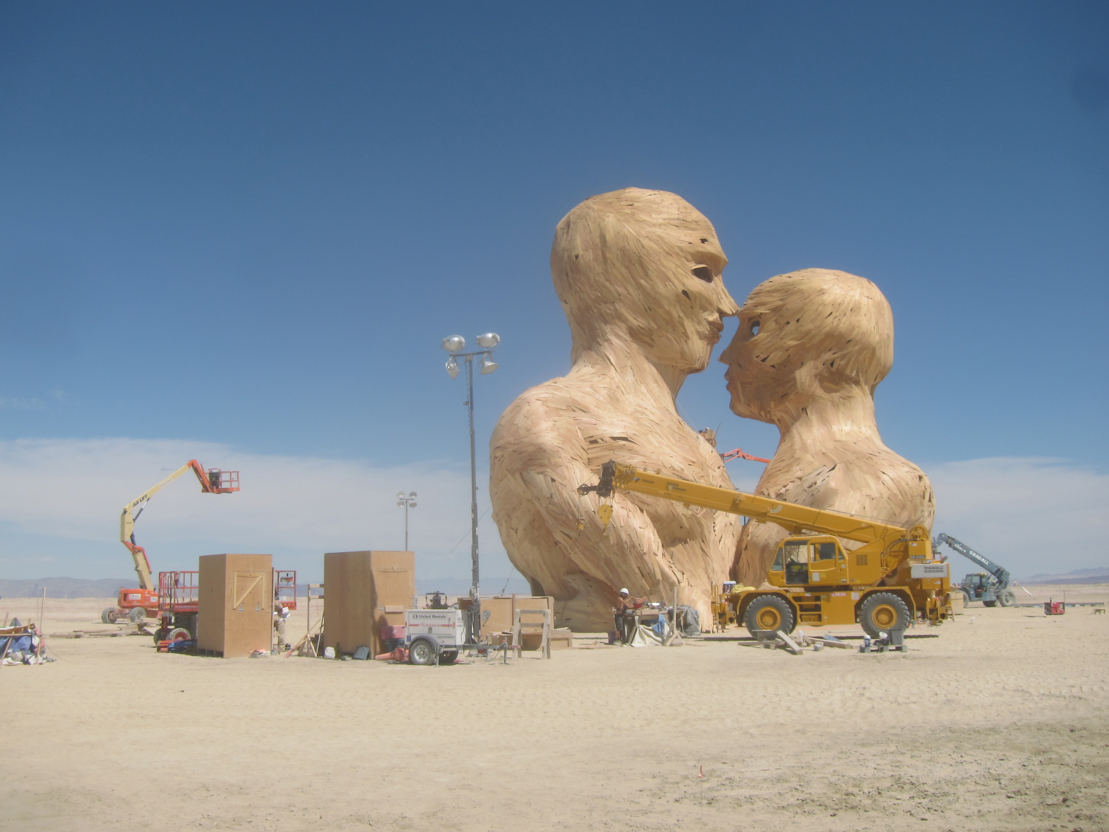 Behind the Scenes: The Build at Burning Man