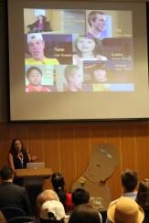 Kris Kullgren discusses customizing bedside educational resources for patients at the CS Mott Children's hospital
