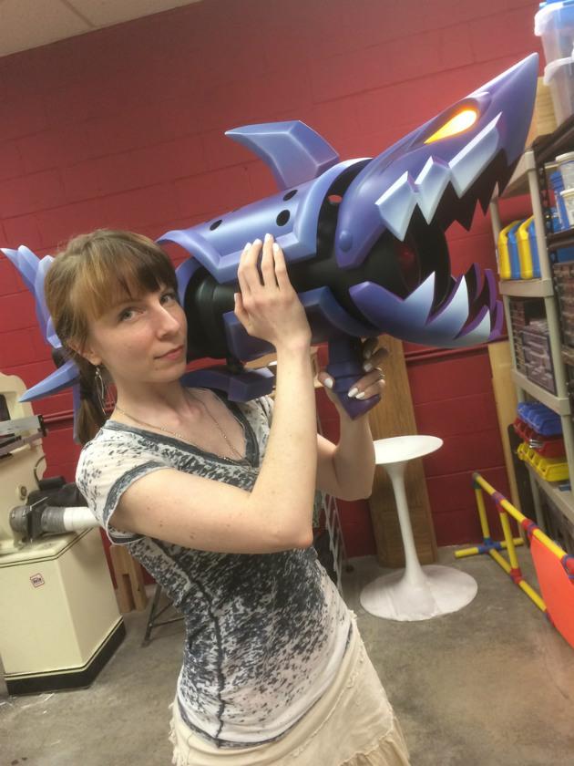 League Of Legends Fishbones Rocket Launcher