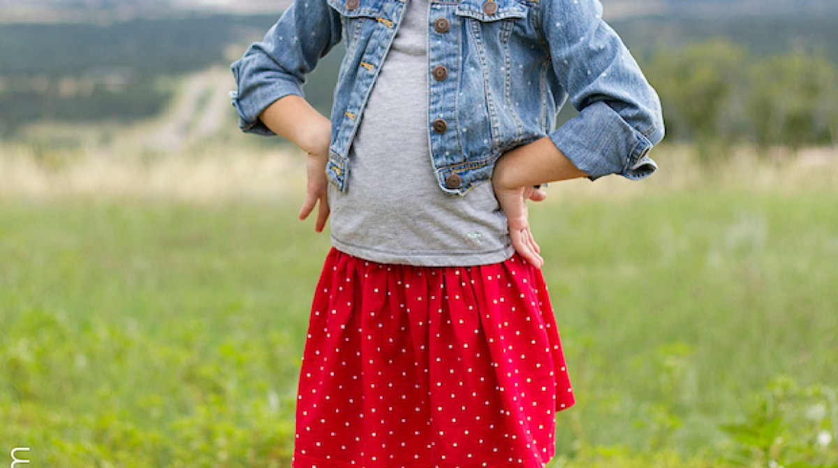 Sewing for Kids: 10-Minute Shirt to Skirt Refashion