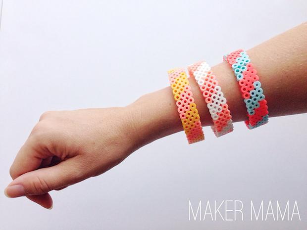How-To: Perler Bead Bracelet