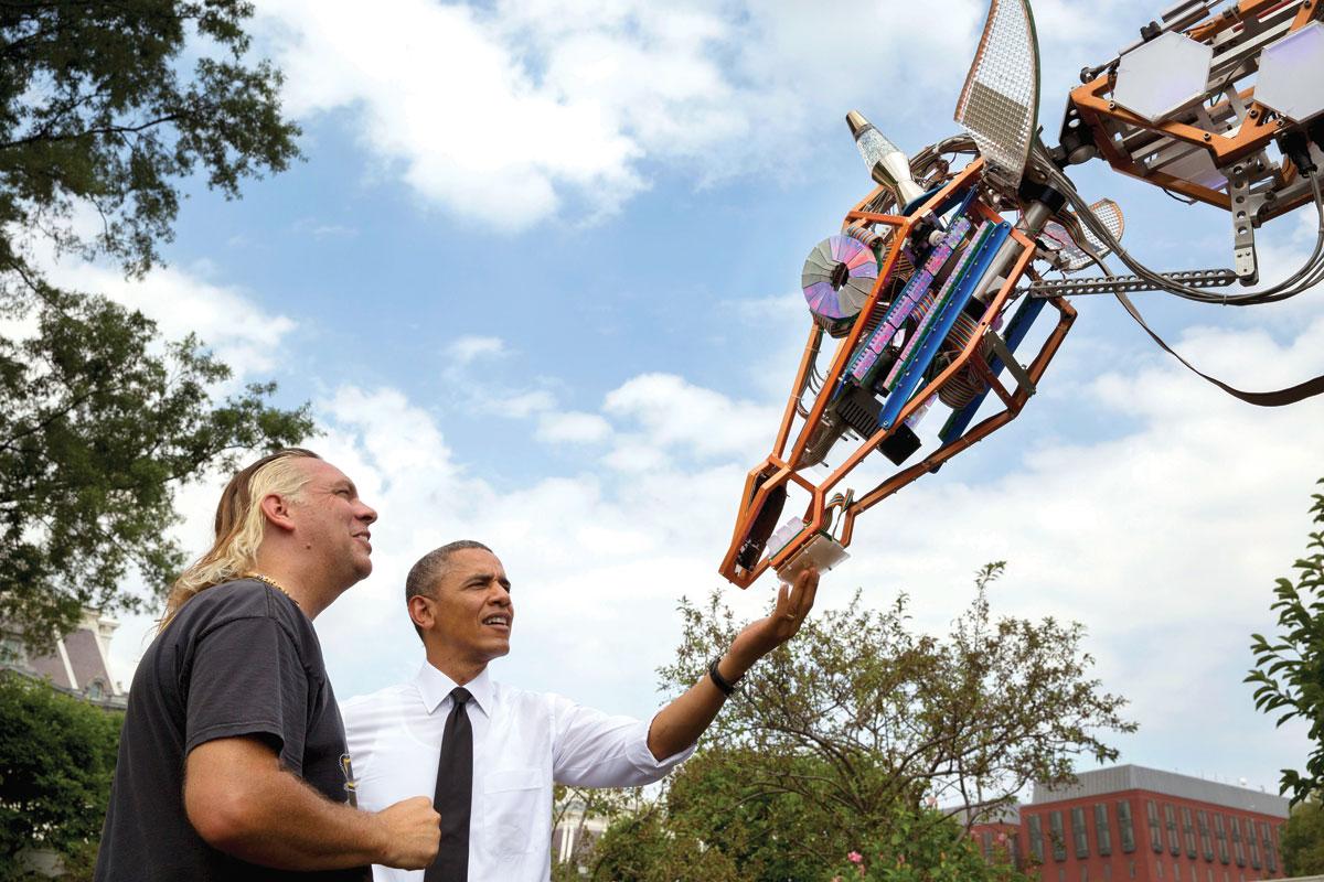 The Electric Giraffe Goes to Washington