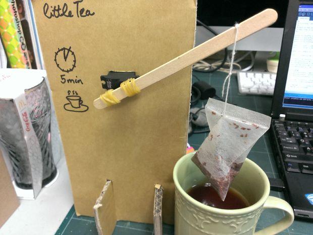 Better Tea Brewing with DIY Robotics