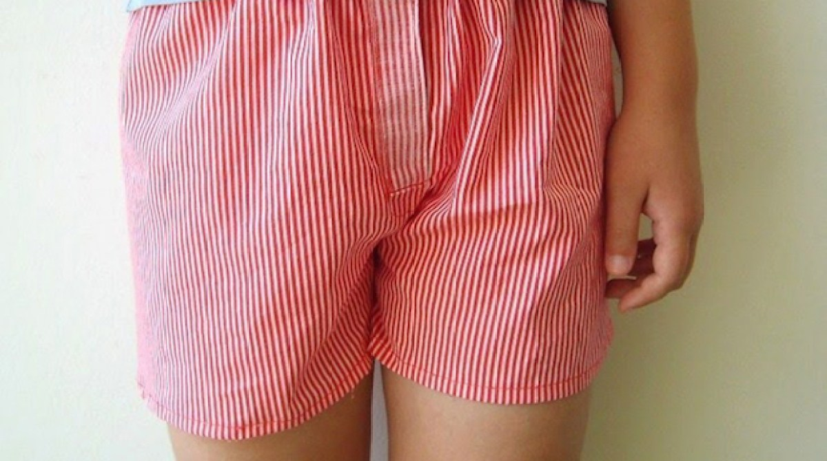 How-To: Sew a Pair of Boxer Shorts