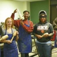 Members of Vocademy Making Cool Stuff!