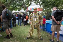 Do you think the Metro Card Man, Gregory Rodolico, took the subway to Maker Faire?