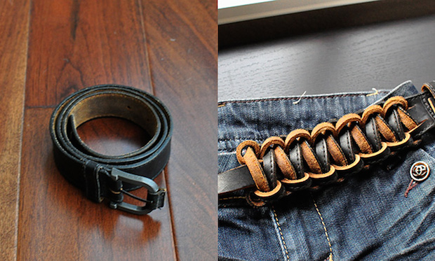 Flashback: From Plain Used Belt to Fashion Statement