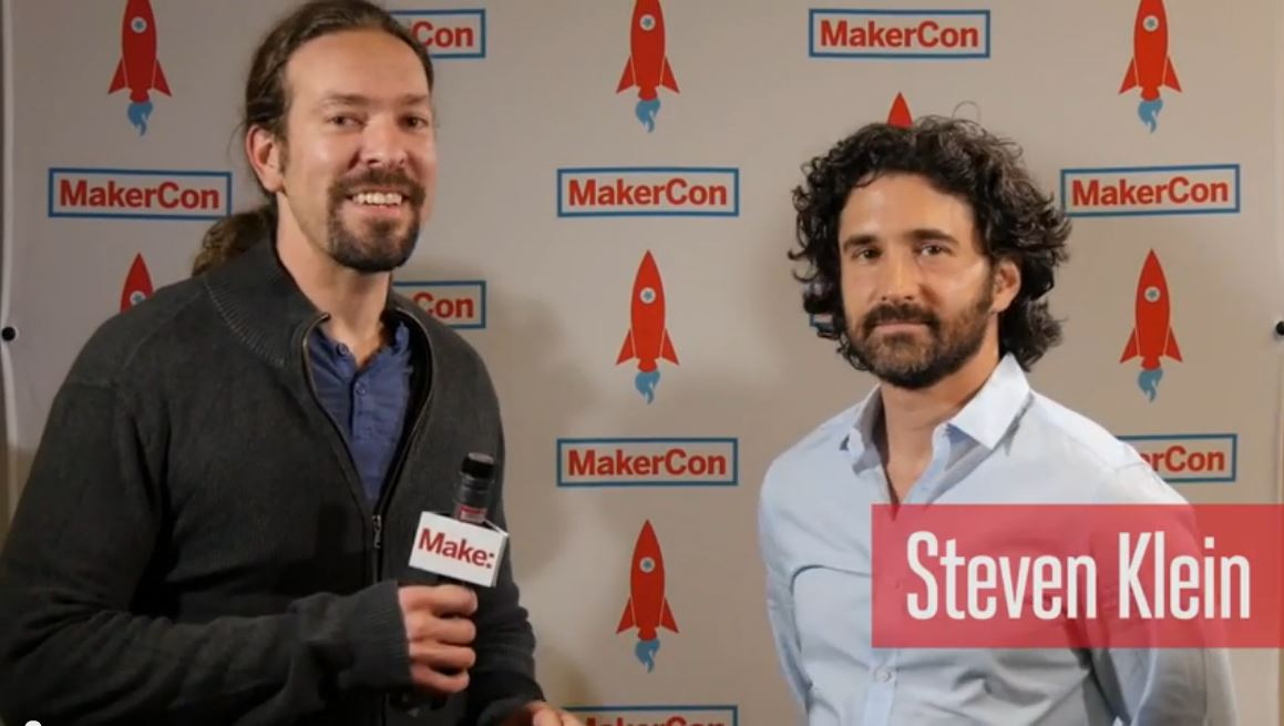 Steven Klein Discusses Print The Legend, Screening at MakerCon