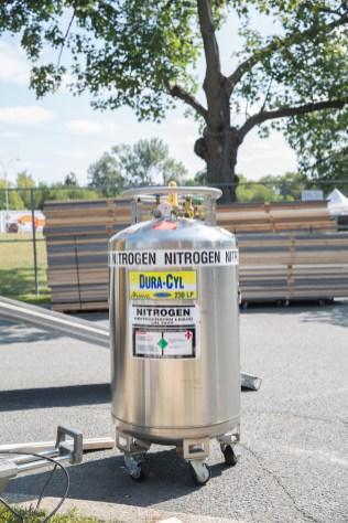 Nitrogen for the Bev Lab