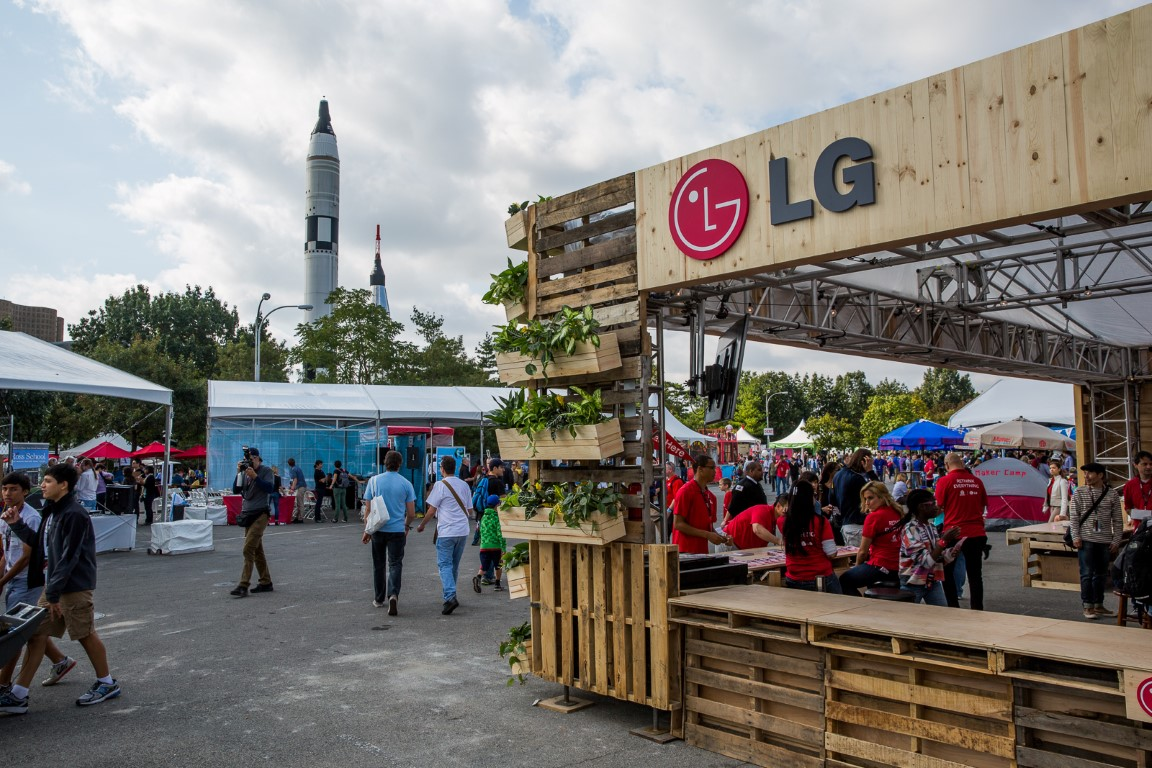 Rethinking Everything with LG at Maker Faire New York