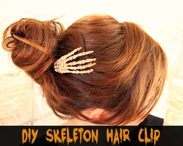 How-To: Skeleton Hair Clip