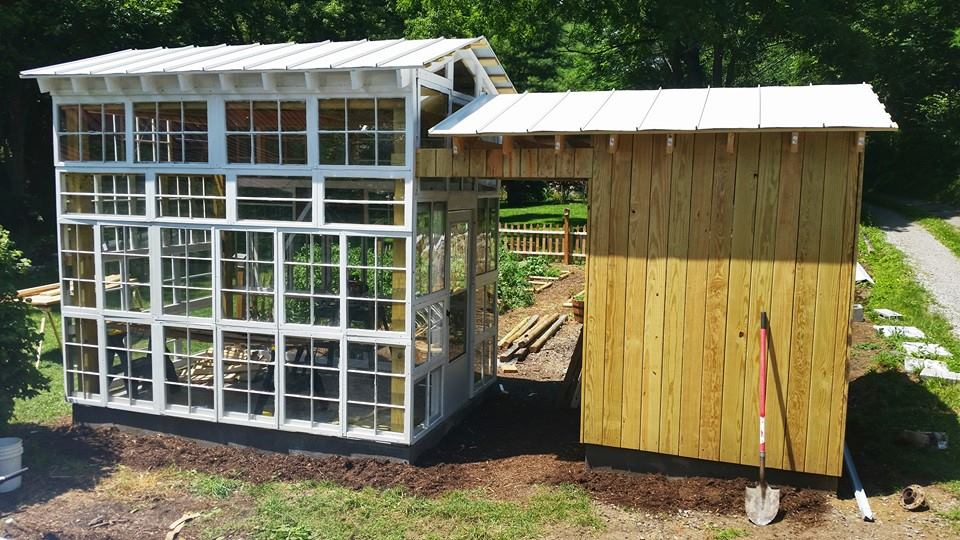 Dark Windows Greenhouse