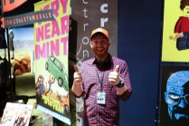Justin is the graphic artist who designed the poster for Orlando Maker Faire.