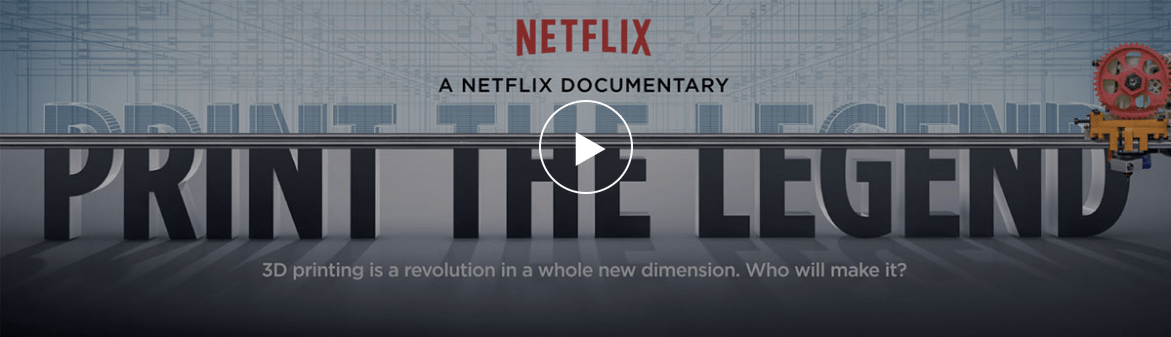 Print the Legend: 3D Printing Documentary Premieres on Netflix Today