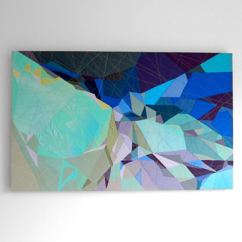 The Abstract Textile Art of Sarah Symes