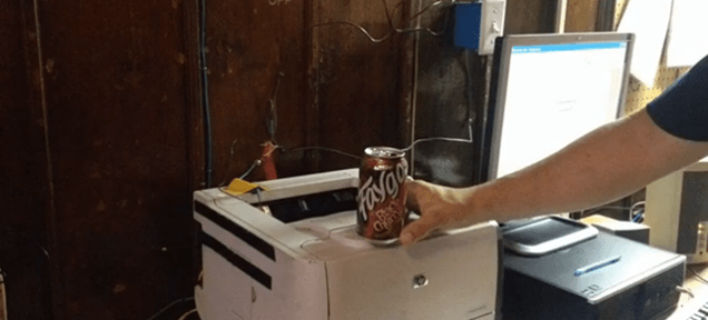 The Detroit Fire Department's DIY Soda Can Alarm System