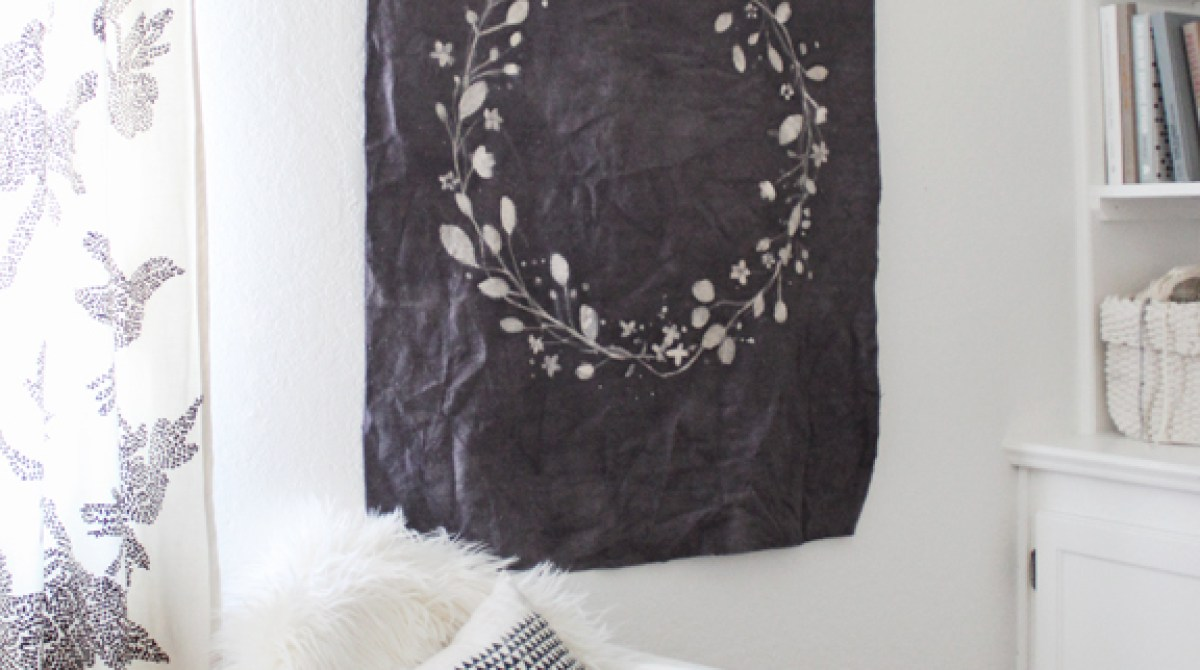 How-To: Batik and Rit Dye Wall Hanging