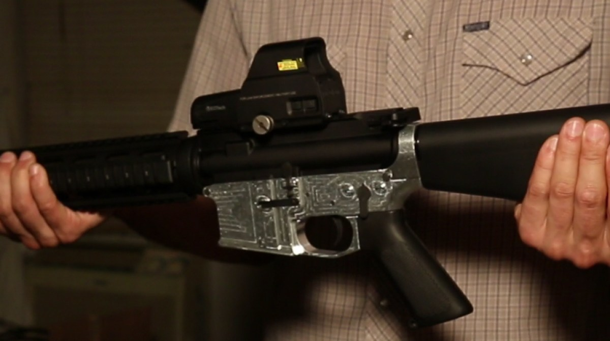 Ghost Gunner: A CNC Mill For Making Untraceable Guns