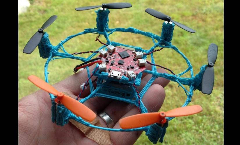 Making a Hexacopter Using The 3Doodler