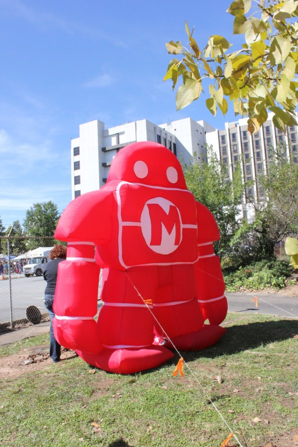 Inflatable robot