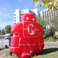 Inflatable robot