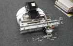 Printing On The Floor With A Roomba