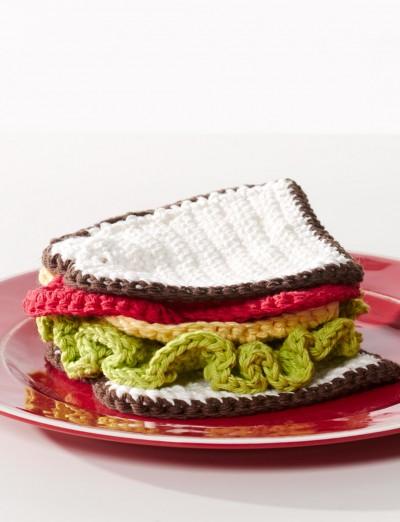 DIY Crocheted Sandwich Pattern