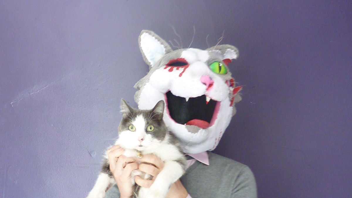 Zombie Cat Costume and Other Creepy Masks
