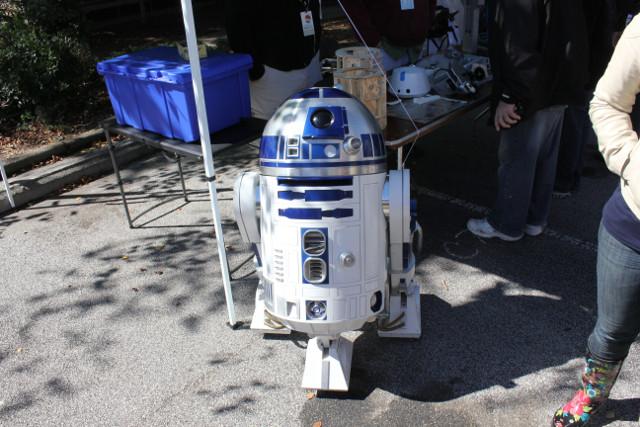 R2 Builders and 501st Legion at Atlanta Maker Faire