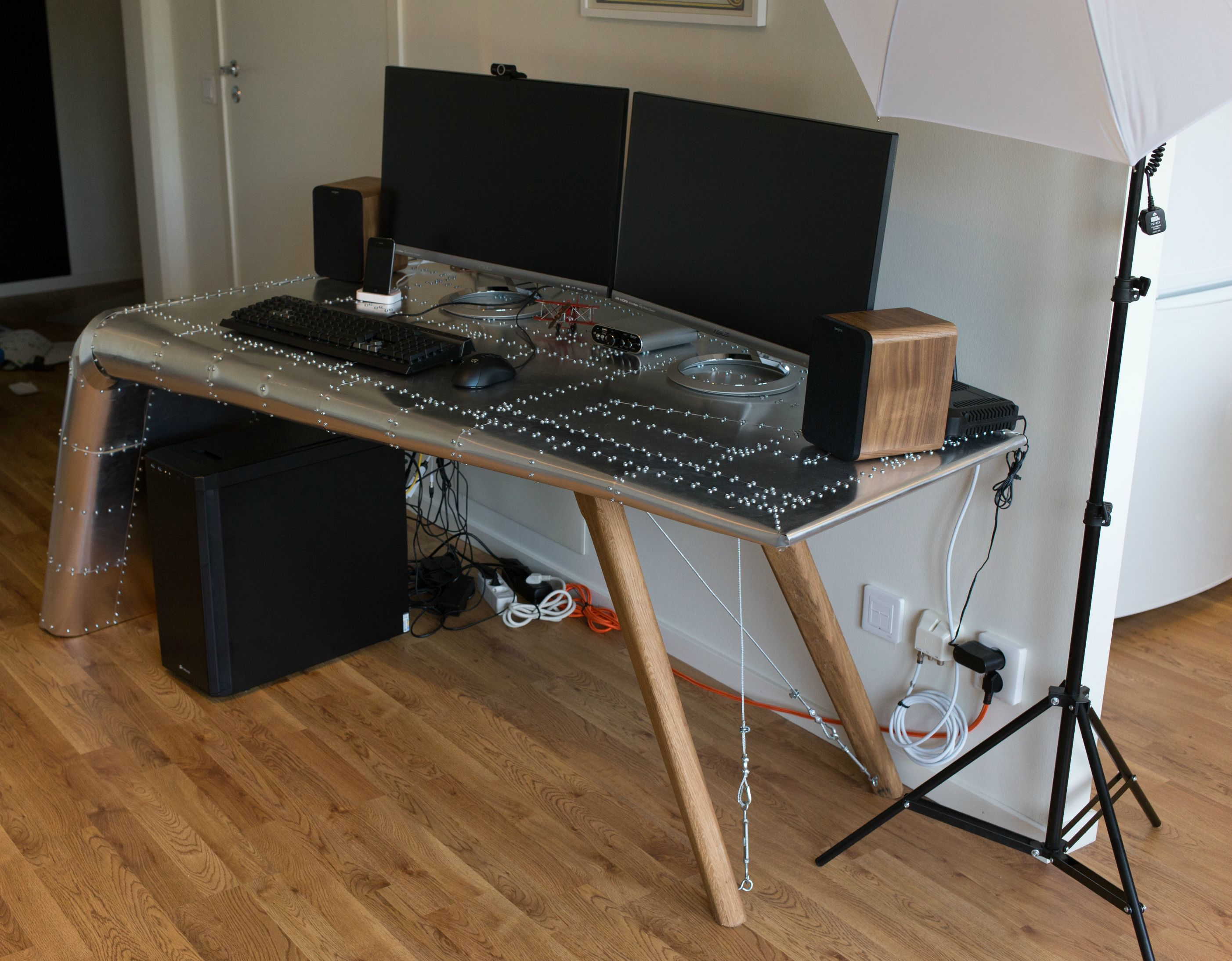 Incredible Aviation-Themed Desk