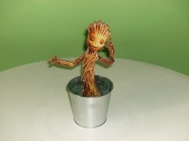 Baby Groot's adjustable arm moved upward.