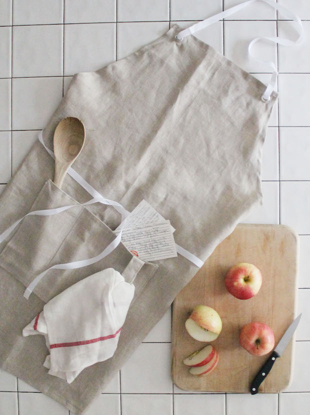 How-To: Simple Linen Apron