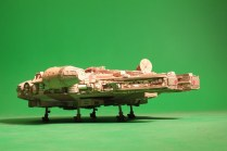 This was a fantastic experience! I made Millennium Falcons when I was a kid, but its been 30 years since I last made one. After working professionally now as an animation artist for many years (and reaching my mid-life crisis), I thought if I made another one, I'd go all out. So, mission accomplished! Cleaned out most of those boxes in the basement and have a five foot Falcon to show for it! My wife is thrilled! :-)
