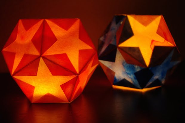 How-To: Paper Star Lantern