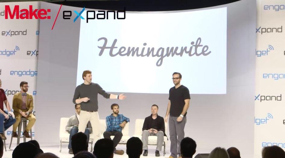 Engadget Expand: The Hemingwrite