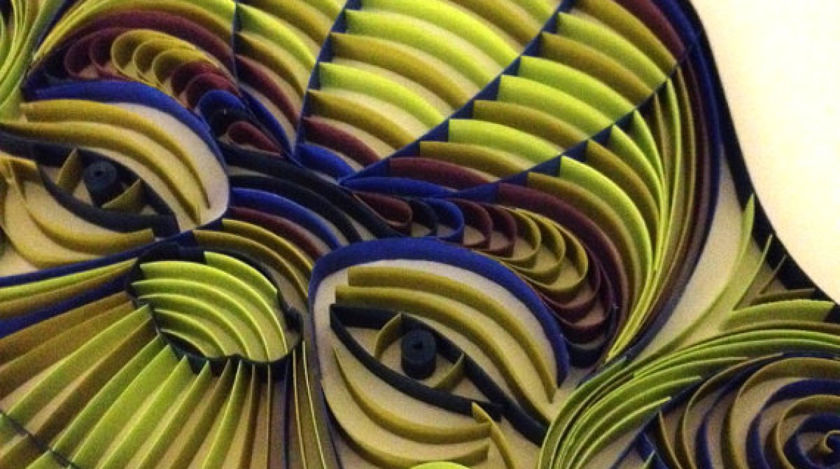 Paper Quilled Sci-Fi Characters