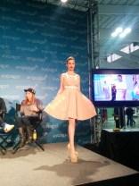 Dress by Robert Tu (MeU) and Sebastian Guarin