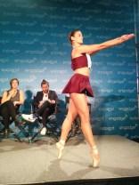 Elizabeth Tolson's ballet dress for Arch Contemporary Ballet