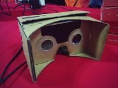 Dodocase's cardboard virtual reality headset works wonders.